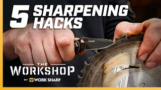 Can You Sharpen a Knife Without a Sharpener? 5 Sharpening Hacks - EP 25