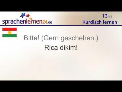 Kurdisch Lernen Kostenloses Sprachkurs Video Youtube