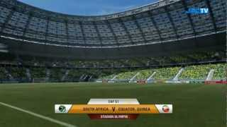 FIFA 12 - RTWC Japan 2012 - South Africa vs. Equatorial Guinea