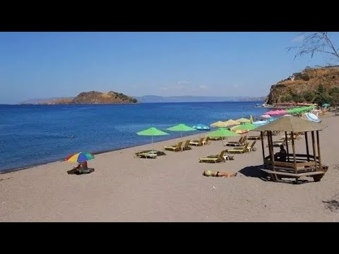 Anaxos Beach Lesvos , Greece