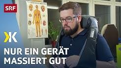 Nur eines von acht Massagegeräten wirkt im Test gut   2019   SRF Kassensturz