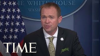 President Donald Trump's Consumer Agency Pick Mick Mulvaney Challenged In Court | TIME