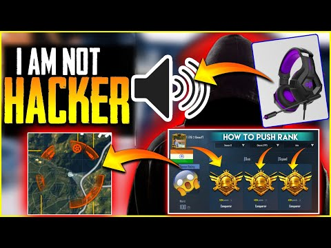 I AM NOT HACKER -THIS  HEADPHONE MADE ME A CONQUEROR PLAYER PUSH RANK CONQUEROR IN SEASONS 10