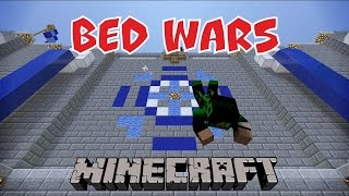 Фото А СИНИЕ ВСЕ ПАДАЛИ И ПАДАЛИ Quick Bed Wars Minecraft Mini Game