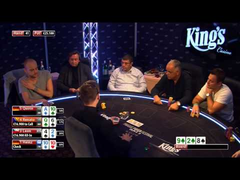 CASH KINGS SPECIAL 1/2 - DE - NLH 100/200 EUR - Leon, Pius Heinz, Jachtmann