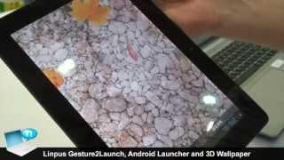 Linpus Gesture2Launch, Android Launcher, 3D Wallpaper Water Pool screenshot 5