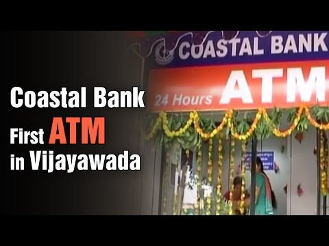 Chairman Dr Jayaram Chigurupati started First Coastal Bank ATM in Vijayawada