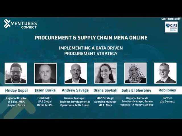 Using data to fuel a company's procurement strategy