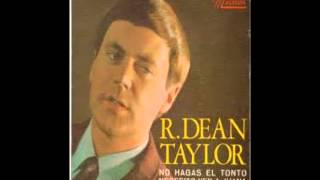 R Dean Taylor Indiana Wants Me Sung By Bob Jones