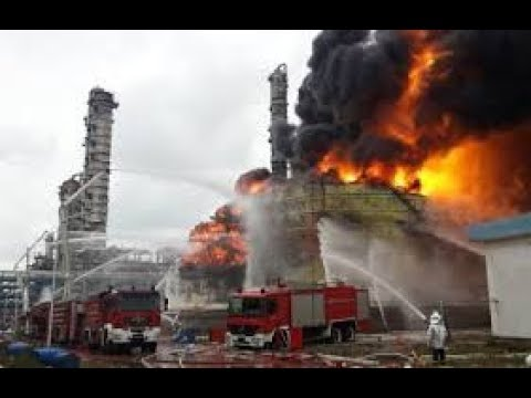 FIRE ON OIL AND GAS PLANT AND CONTROLLING TECHNICS