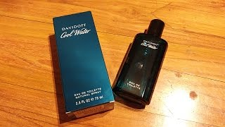 Davidoff Cool Water (1988) For Men : A Classic Fragrance Review