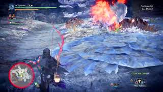 Wolf Blood Brotherhood -MHW Iceborne grinding optinals and investigation