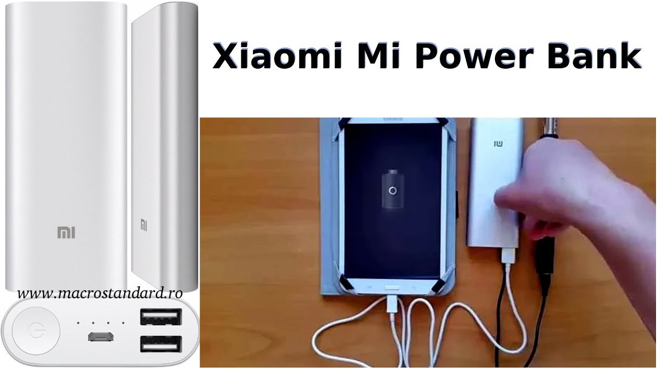 Prezentare Acumulator extern Xiaomi Mi Power Bank