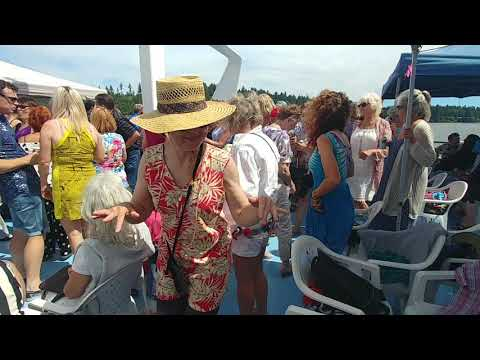 Billy Dixon Blues Cruise & Soul Train Express Vancouver 2018