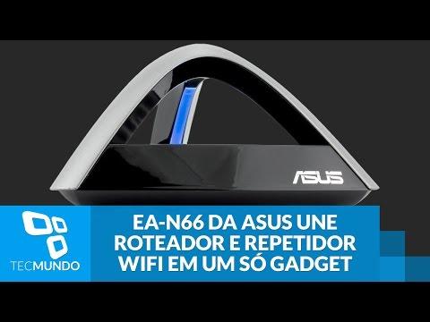 EA-N66 da ASUS une roteador e repetidor WiFi em um só gadget