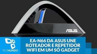 Video EA-N66 da ASUS une roteador e repetidor WiFi em um só gadget download MP3, 3GP, MP4, WEBM, AVI, FLV Agustus 2018