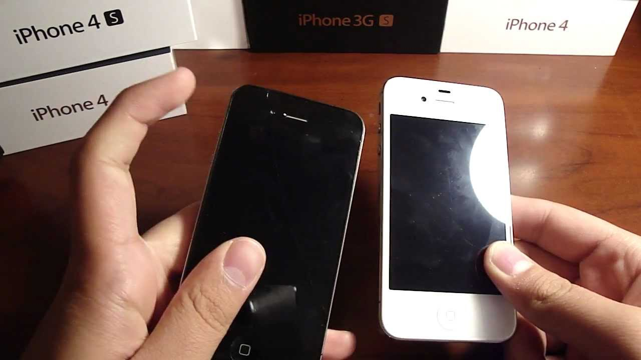 How to tell the difference between the iPhone 4 GSM and 4S! SIDE ...