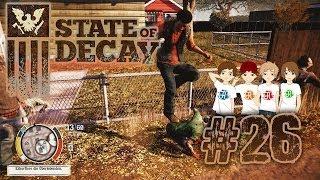 STATE OF DECAY #26 - Aufgeblähter Zombie gesichtet [HD+] | Let