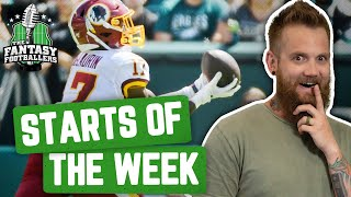 Fantasy Football 2019 - Starts of the Week + Week 6 Breakdown, Burgles, Penguins - Ep. #793