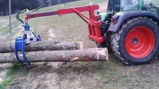 Rückezange Eigenbau  Heck- und Frontladeranbau