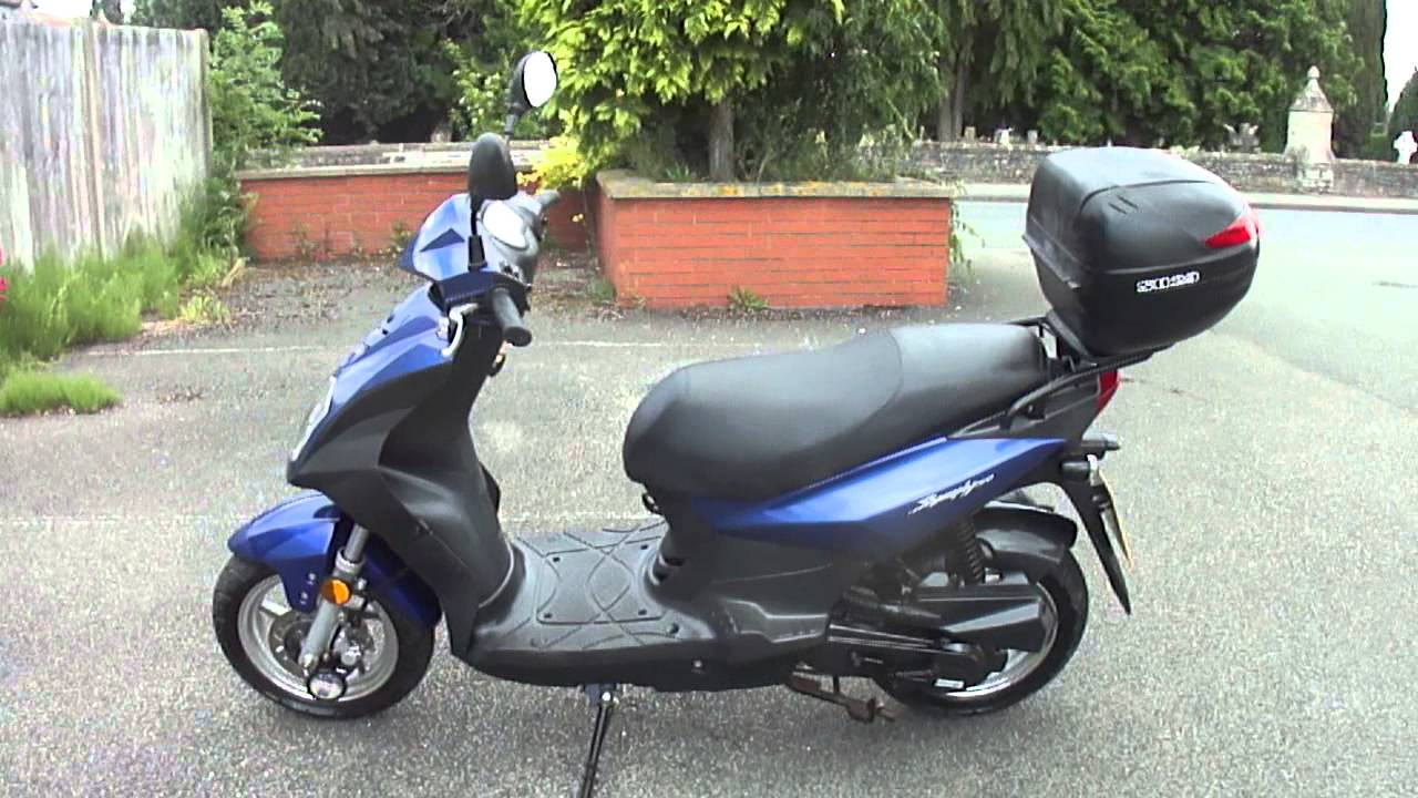 3k In Miles >> 2008 SYM SYMPLY 50 MOPED 4T SCOOTER VGC FSH NEW MOT & TAX 3180 MILES SUPERB BIKE - YouTube