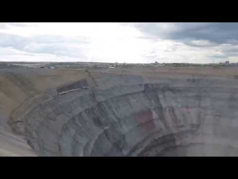 Mir Diamond Mine - Mirny (Yakutia), Eastern Siberia, Russia