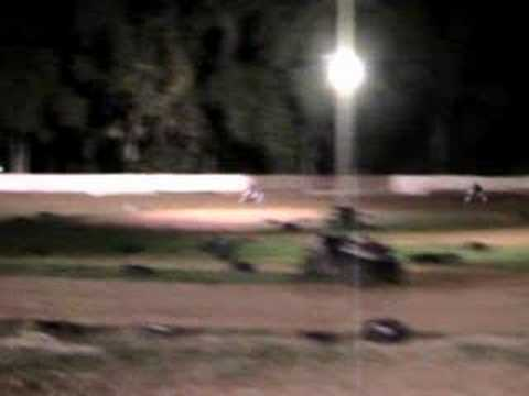 Flat track racing at Thunderbowl Ocala FL