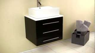 Bathroom Vanity Fvn6185es Oak Wood With Medicine Cabinet