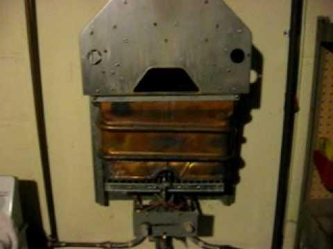 Bosch Junkers Water Heater Gas Valve Burner Autopsy