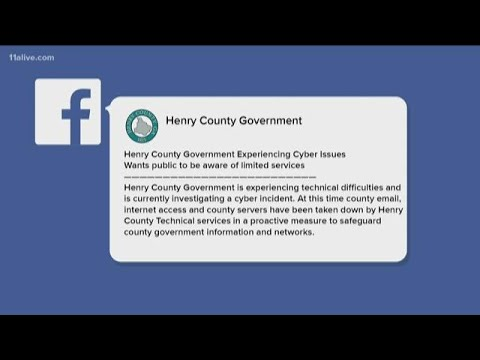 FBI investigating 'cyber incident' that knocked Henry County offline