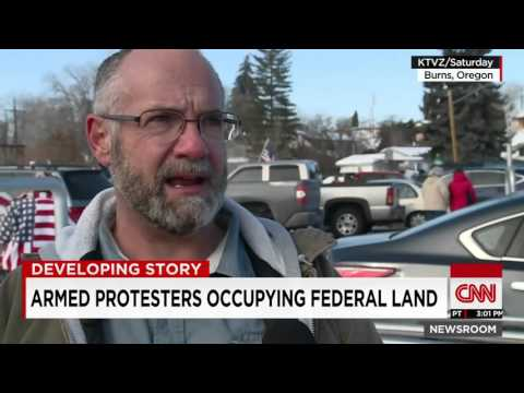Armed Protesters Occupy Federal Land