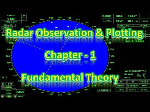 Radar Observation and Plotting - Fundamental Theory  - Chapter 1