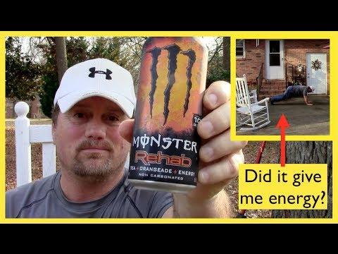 Monster Energy Drink Rehab ~ Steve's Reviews