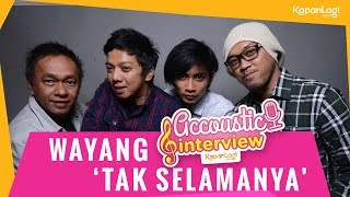 Kapanlagi.com - band yang populer di tahun 90-an, wayang, akhirnya muncul kembali layar kaca. bersama kapanlagi.com, mereka membagikan cerita soal perkemb...