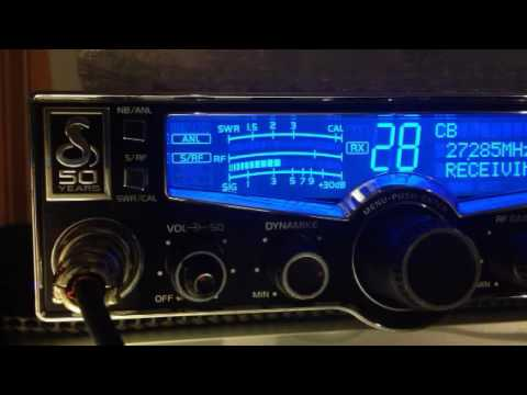 Who is that on that CB 28 Radio