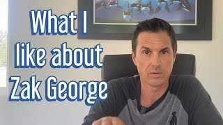 What I respect about Zak George and don't respect about some others