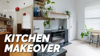 EXTREME DIY Kitchen Makeover & Disaster Pantry Transformation! 🙌  Before & After Reveal