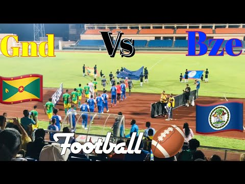 Grenada Vs Belize Football Competition (my First Football Experience )