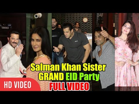 Arpita's GRAND EID Party | Salman Khan & Family, Katrina, Bobby Deol, Anil Kapoor