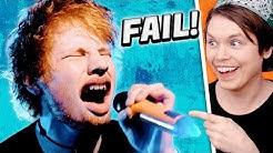 Ed Sheeran Can't Sing LMAO