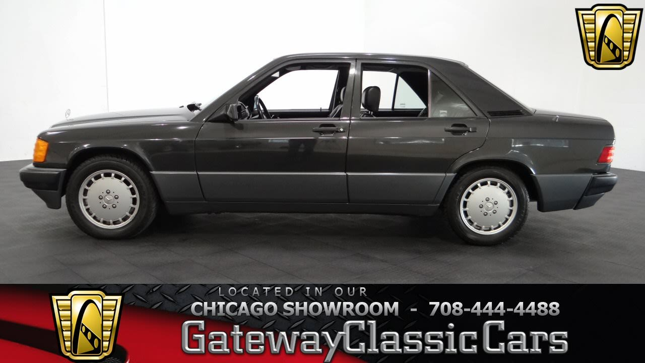 1993 mercedes benz 190e 2 6 gateway classic cars chicago for 1993 mercedes benz 190e 2 6