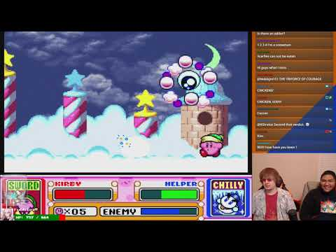 Kirby Super Star Saga w/ Galm | Part 1 (October 16, 2017)