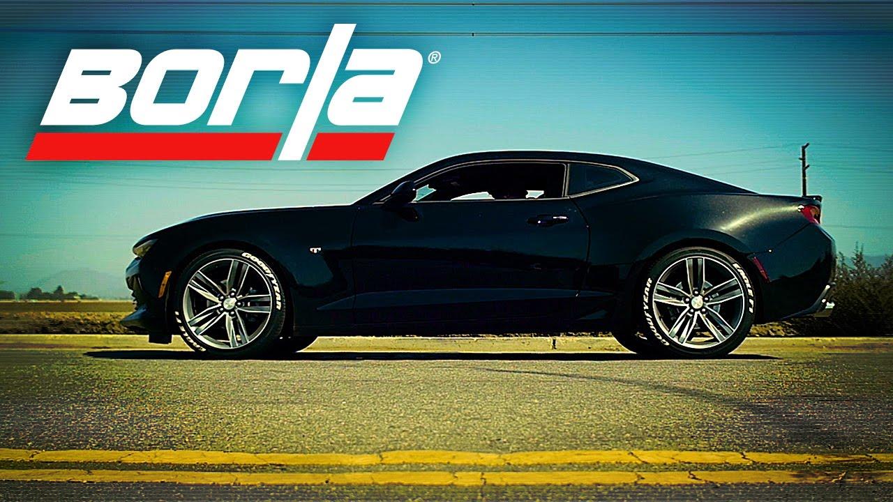 Chevrolet Camaro V6 Borla Exhaust Kit Video | GM Authority
