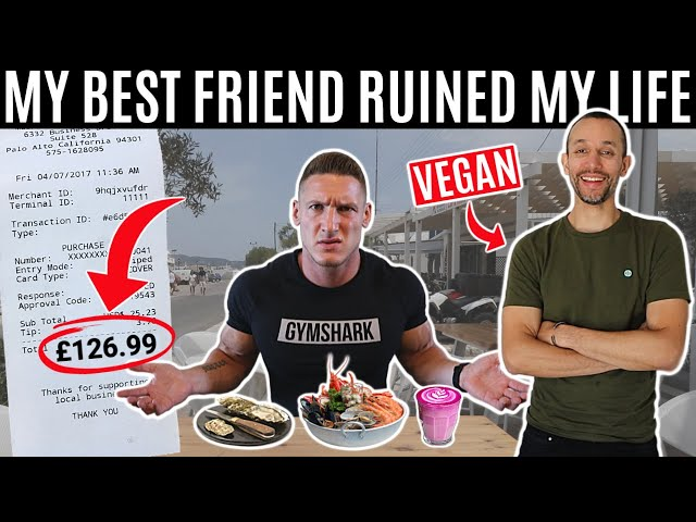 Letting my best friend decide what I eat for 24 hours...
