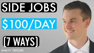 7 Side Jobs To Make Extra Money [2020] - Everyday Passive Income Ideas
