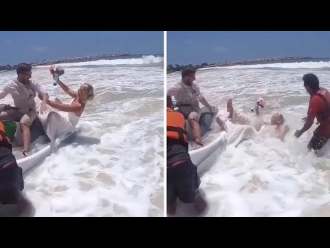 Bride Falls Off Jetski from YouTube · Duration:  38 seconds