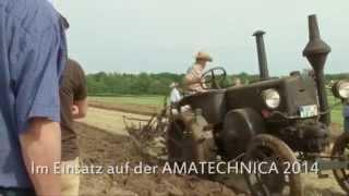 AMAZONE - Lanz-Bulldog mit Sackschem Pflug