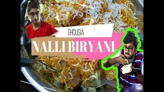 Eating Nalli (Bone Marrow) Biryani | Review VLOG! 19th April 2018