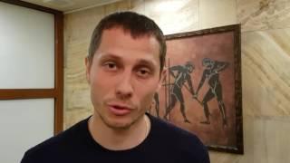 Приветствие Юрия Борзаковского главного тренера сборной России по легкой атлетике