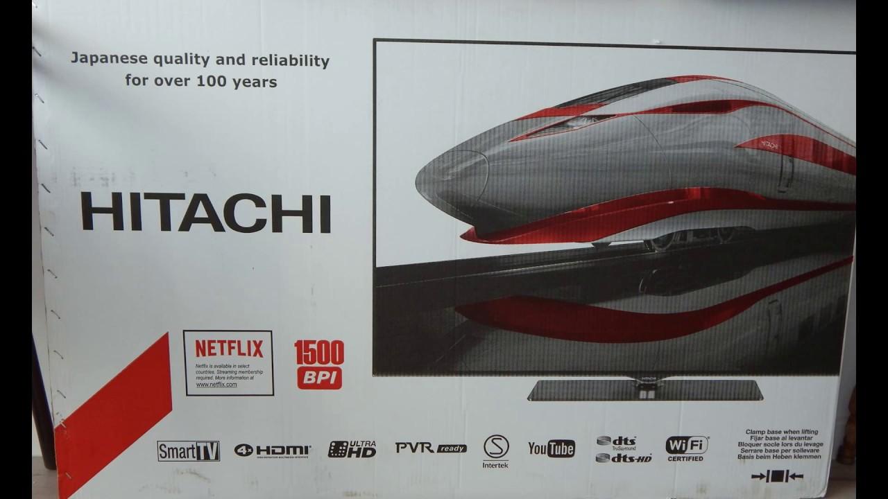 hitachi rc 49141  Hitachi 49F501HG2W69- Pudełko + instrukcja obsługi - YouTube